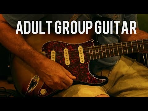 Adult Group Guitar Lessons
