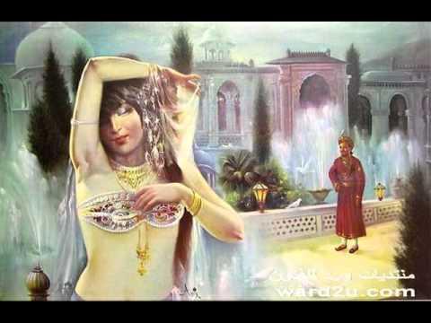 Beauty of Indian women in the paintings جمال المرأة الهنديه في لوحات