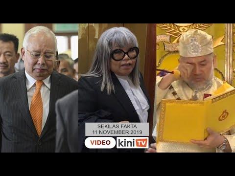 Najib pilih bela diri, Siti Kasim bengang parkir diambil UMNO, Sultan Kelantan sebak ingat ayahanda