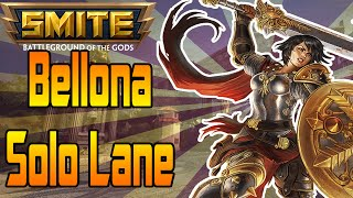 Smite: Bellona Solo Lane - Conquest - This God Is Tough Stuff!