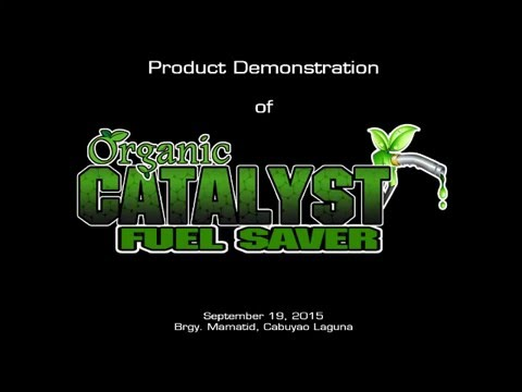 CATALYST Fuel Saver (100% Organic)