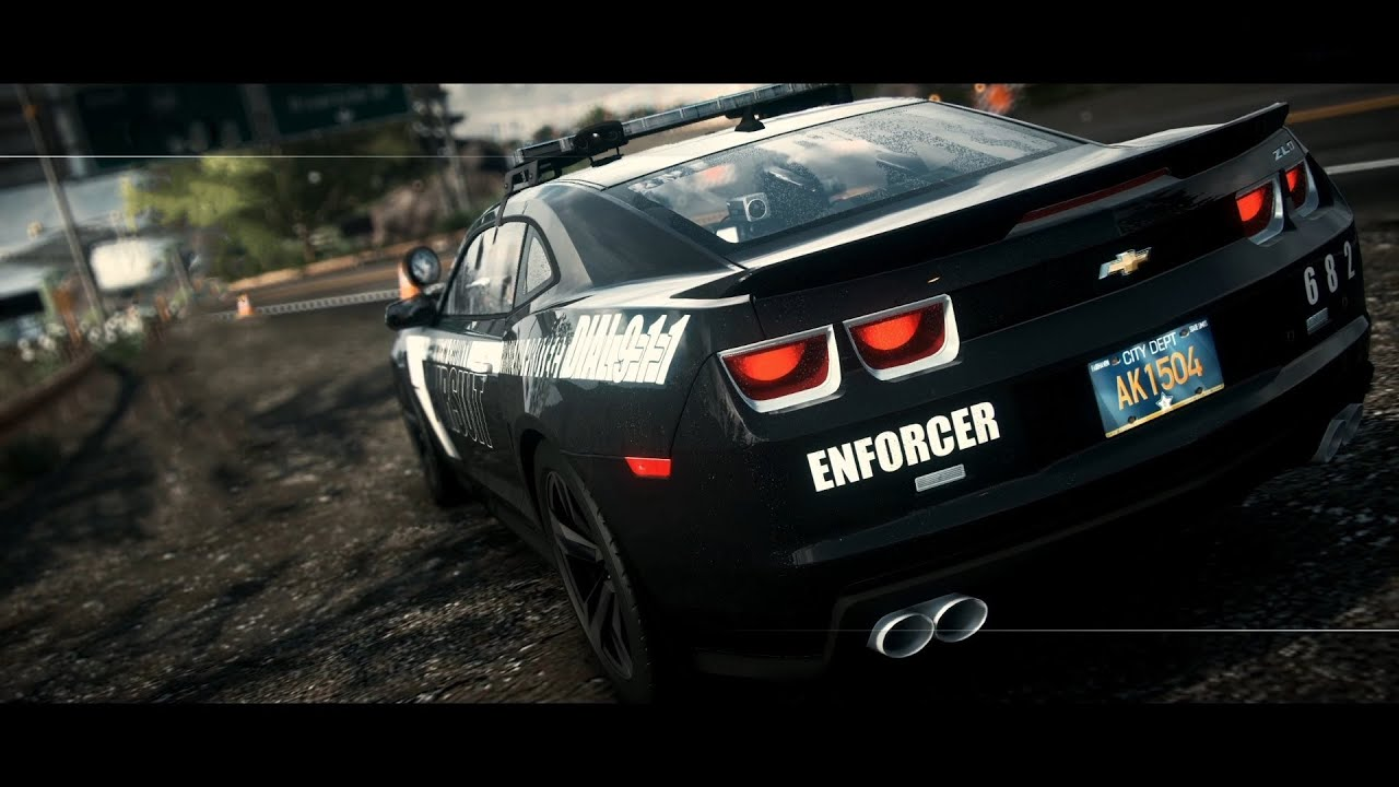 Need For Speed Rivals Pc Ultra Camaro Zl1 Enforcer Cop
