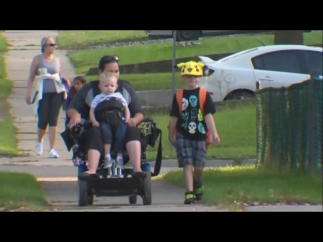 Mom with disability wants school bus eligibility for her son