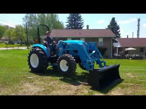 Barton Tractor: LS XR4040