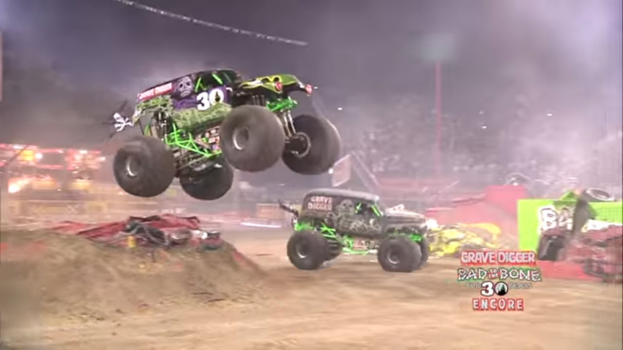 Monster Jam World Finals Xiii Encore Grave Digger