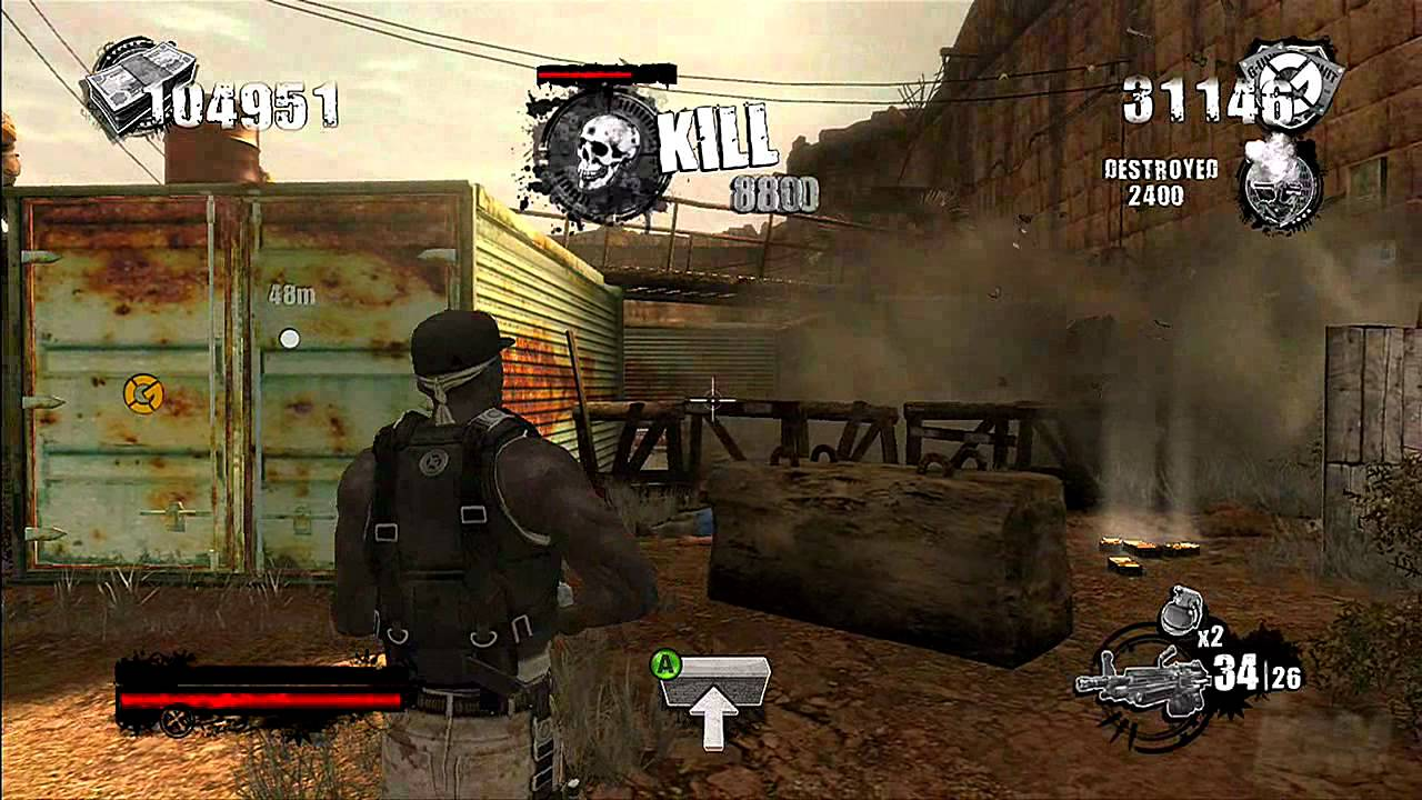 50 Cent Blood On The Sand Xbox 360 Gameplay Ign Youtube
