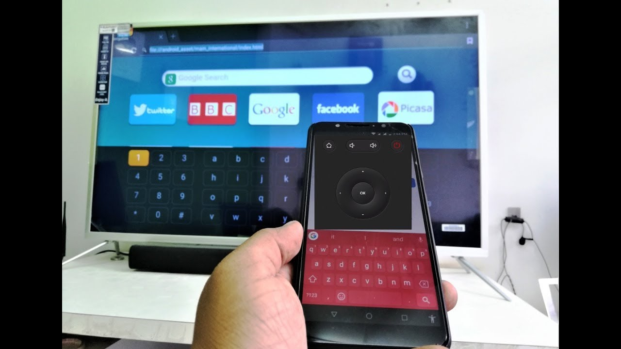 Use Phone As a Mouse & Keyboard for Any Smart TV (100% Works)