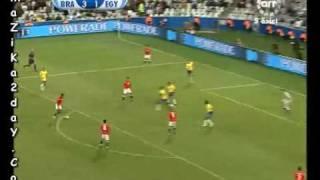 اهاف مباراة مصر والبرازيل بتعليق النجم عصام الشوالى