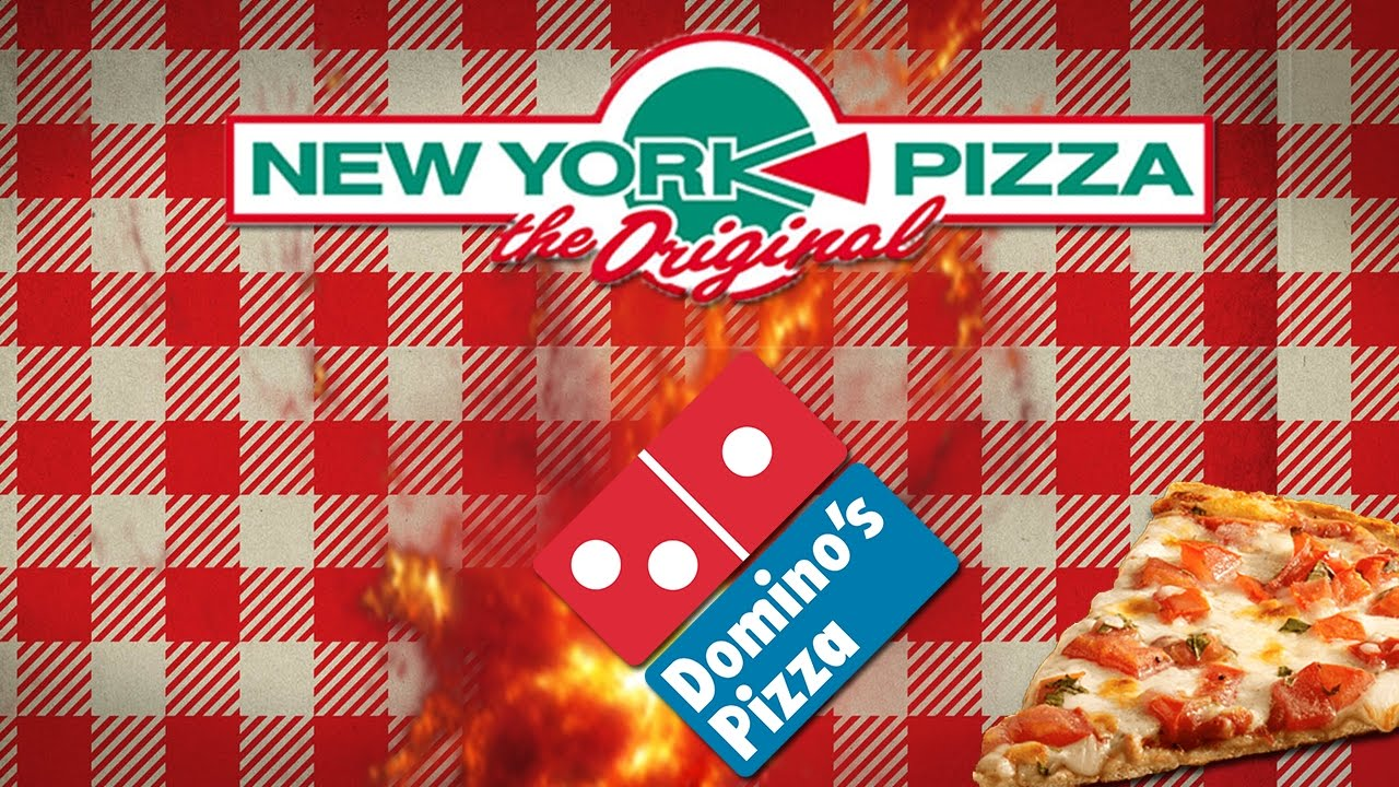 Ultieme Pizza Test Dominos Pizza Of New York Pizza Youtube