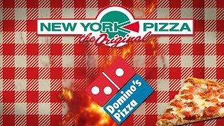 ULTIEME PIZZA TEST! DOMINO'S PIZZA OF NEW YORK PIZZA?