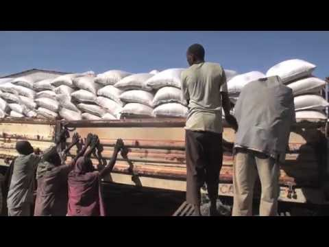 First Convoy Of Food Aid Safely Arrives In South Sudan Via Sudan