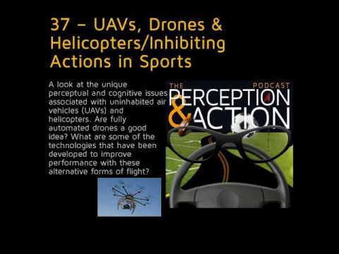 37 – UAVs, Drones & Helicopters/Inhibiting Actions in Sports