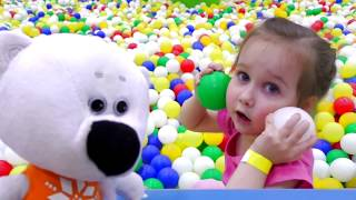 Enjoy learning Funny playtime on the indoor playground Video for kids