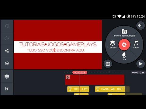 Como criar uma intro no Android pelo Kinemaster (Simples) - Template Intro Kinemaster Incluso.