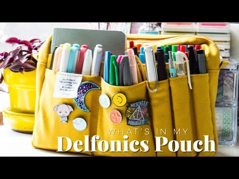 What's In My Delfonics Pouch