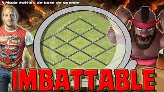 CETTE BASE EST QUASI IMBATTABLE | 2e Édition | Clash of clans