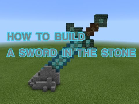 minecraft how to make a sword
