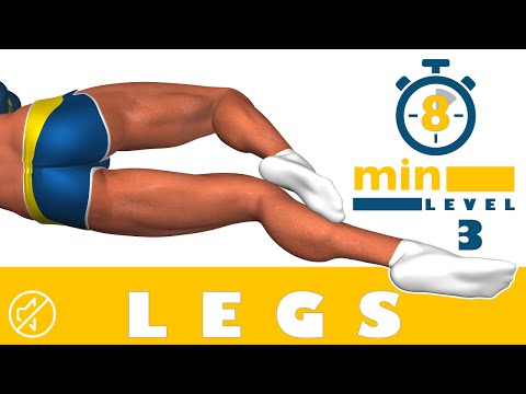 8 Min Legs - Level 3 - No Music