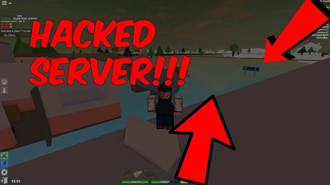 Hacked Server Roblox Apocalypse Rising Youtube