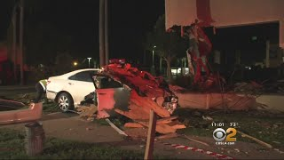 Owners Already Planning To Rebuild After Car Slams Into Restaurant