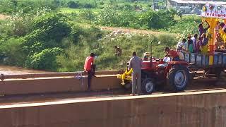 Drunken Man Doing Silly Thing He Died In POLAVARAM RIGHT CANAL AT VELAGALERU VIJAYAWADA RURAL