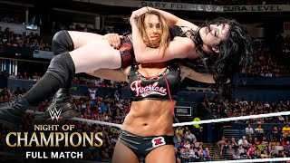 FULL MATCH - Paige vs. Nikki Bella vs. AJ Lee – WWE Divas Title Match: WWE Night of Champions 2014