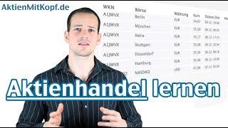 Aktienhandel lernen! Erfolgreich investieren an der Börse – AktienmitKopf.de
