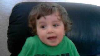 3 Year Old Sings Galway Girl