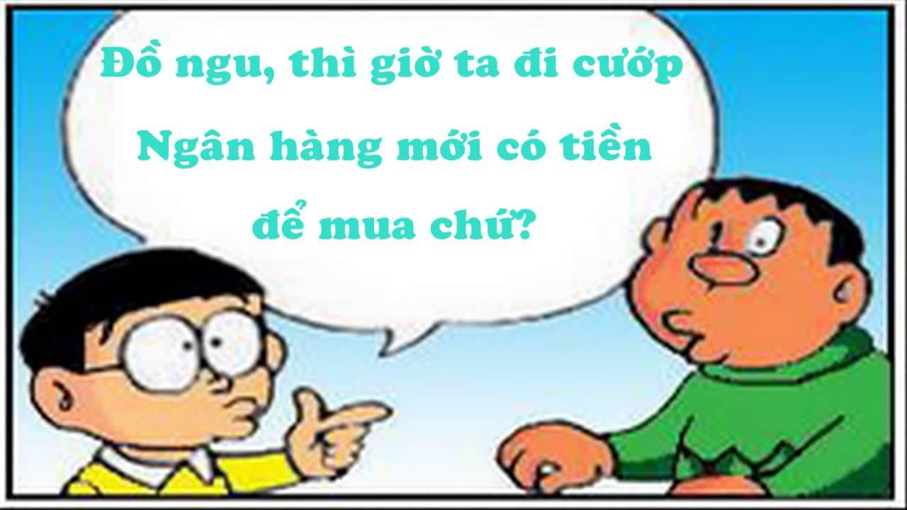 Truyện Cười Cướp Ngân Hàng   (Doraemon Chế)