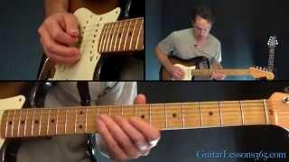 Free Bird Guitar Solo Lesson - Lynyrd Skynyrd - Solo Part 2