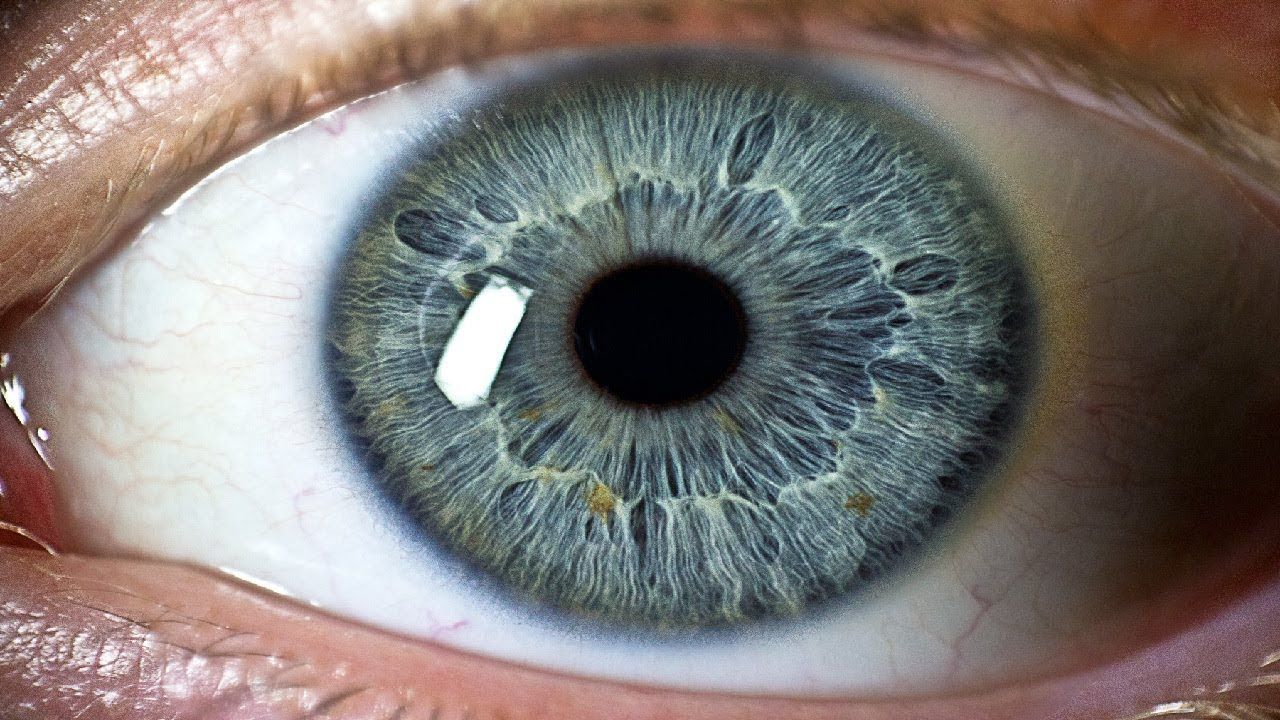 what is the maximum resolution of the human eye