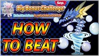 How To Beat September Big Bonus Challenge ~ KH Union χ[Cross]