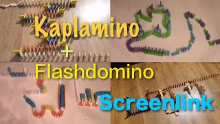 Musically Timed Screenlink 2 !  w/ Flashdomino