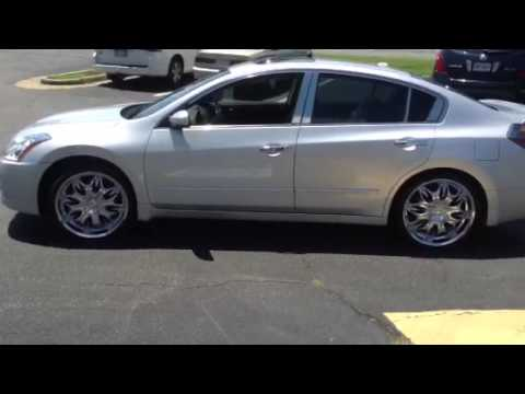 "Nissan Richmond Va >> Rimtyme Richmond 2012 Nissan Altima 20"" Incubus 716 wrapped - YouTube"