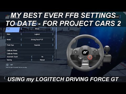 Project Cars 2 | My ALTERNATE UPDATED FFB Settings For My LDFGT Wheel | Plus G27 & G29 Users?