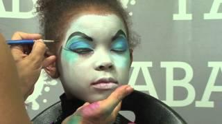 Face Painting Skelita Calaveras of Monster High Thumbnail