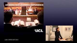 UCL - Law undergraduate subject overview