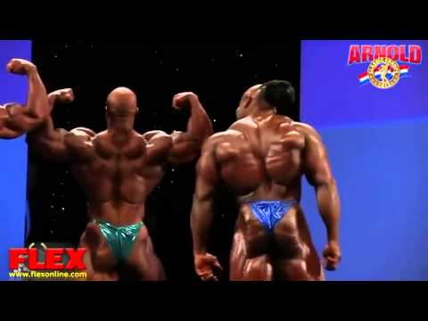 Phil Heath and Kai Greene Fight on Stage Arnold Classic Europe 2013!