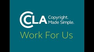 Copyright Licensing Agency  Work For Us