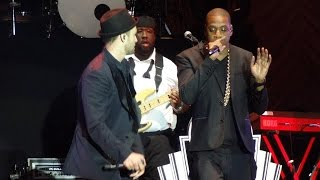 Justin Timberlake and JayZ Suit n Tie LIVE Wireless 2013