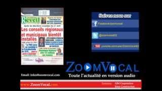News Politique- Le Nouveau Reveil : Koua Justin, Sg par intérim de la Jfpi, samedi dernier