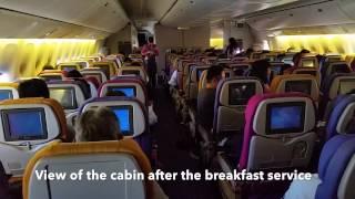 Thai Airways Boeing 777-300 Economy Class Flight Experience: TG670 Bangkok to Sapporo