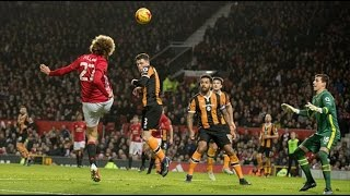 MANCHESTER UNITED 2 - 0 HULL CITY | GOALS: MATA, FELLAINI | MATCH REVIEW
