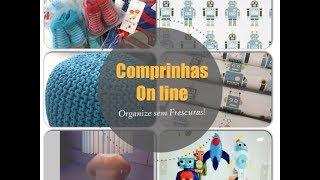 Compras On-line para o quarto de bebê e linha Casa e Decoração Thumbnail
