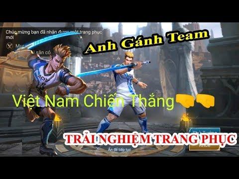 🇻🇳Cổ Vũ Đội Tuyển Việt Nam / Youtube Đầu Tiên Chơi Murad Thiên Tài Sân Cỏ⚽ Gánh Team 1v9 Quá Gắt🤜