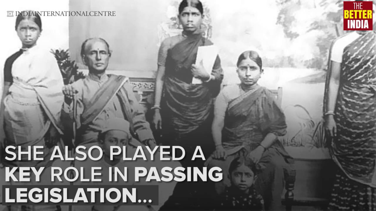 Dr Muthulakshmi Reddy - the first Indian woman member of a Legislative  Council