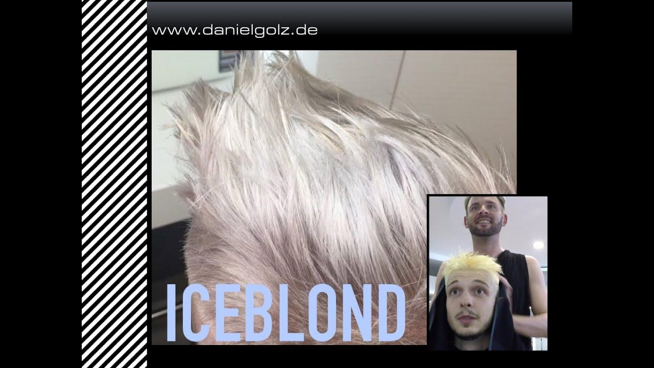 Haare lasern blond