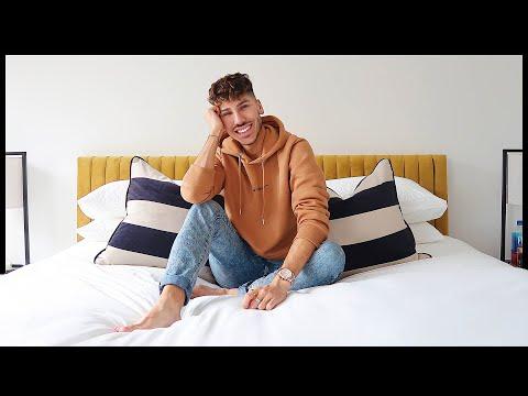 BEDROOM REVEAL & NIGHT TIME SKINCARE | Danny Defreitas