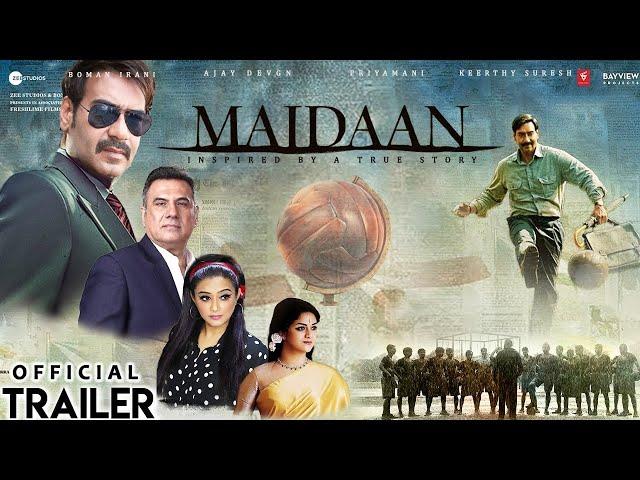 Maidaan Offcial Trailer | Ajay Devgn |Priyamani |Boney Kapoor | Zee Studios | Concept Trailer