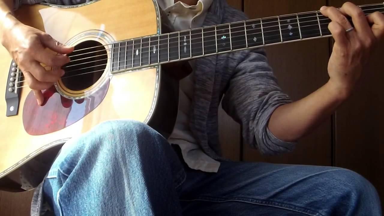 夏川りみ「涙そうそう」ギター弾き語り - YouTube
